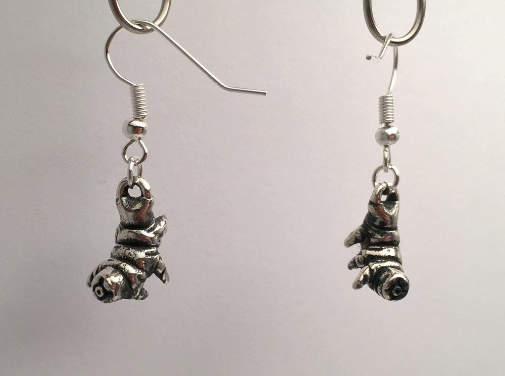 Antique Tardigrade Earrings
