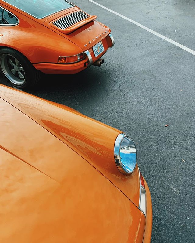 butterscotch, baby. #VehicleVixen #DasRennTreffen #SingerVehicleDesign #DRT