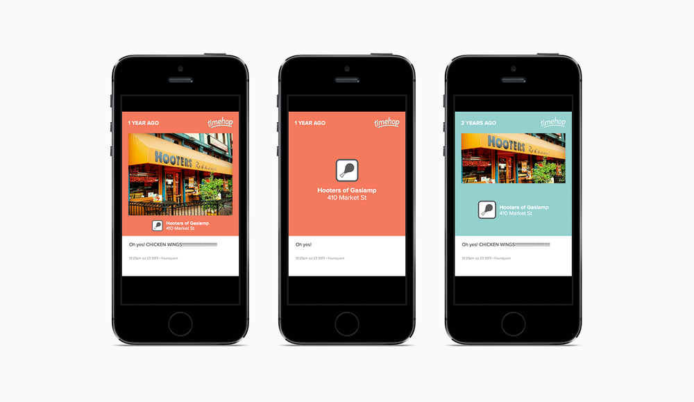 Shared content template: Foursquare