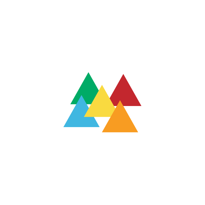 Designed a new symbol to mark the rebranding of Tanga in late 2013. Triangles were a driving piece of the new visual language.