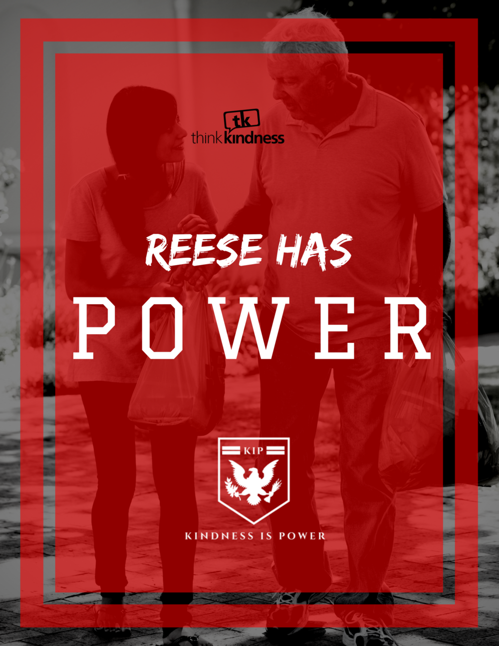 "REESE HAS POWER - 8.5"" x 11"""