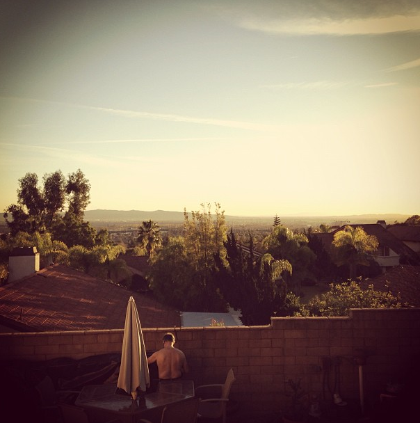 Backyard - Duarte, CA