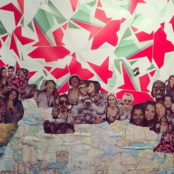 Heineken House Collage - Indio, CA