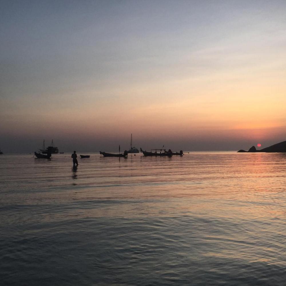 Sairee Beach - Koh Tao, Thailand