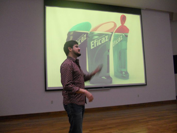 Lecture at the American School of Tampico    I started off the year with a lecture for the High School students of the American School of Tampico (ATS) where I studied from PK till 10th Grade. It was a pleasure to give back to ATS by sharing my experience as a designer and to talk with the students about how much ATS shaped my character.