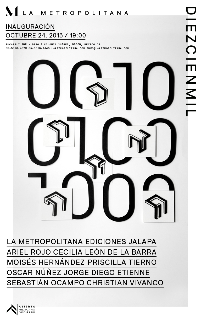 DIEZCIENMIL    Another great project we will be presenting during the Abierto Mexicano de Diseño. DIEZCIENMIL was put together by La Metropolitana and Ediciones Jalapa as an interesting approach to affordable almost limited production: 10 designers created a stool to be produced in series of 100 at a selling price of $1000 pesos. The studio is excited to be part of an incredible roster of designers that include beloved friends. If you are in Mexico City for the Abierto, be sure to stop by the opening party!