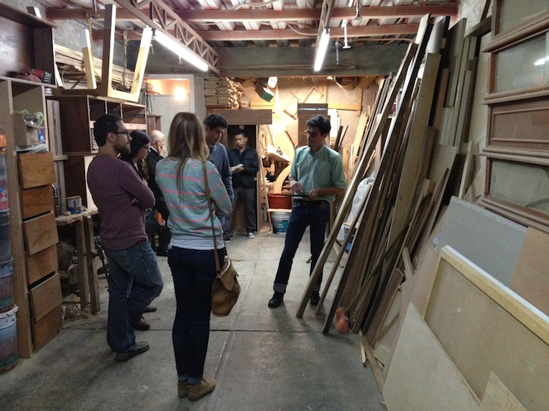 Kicking-off a new project with Ediciones Jalapa During our recent trip to Mexico City we visited the amazing wood-workshop of La Carpinteria MX who we will be collaborating with for our new project for Ediciones Jalapa.  Founded in 2011, E/J is a space dedicated to research, development and promotion of contemporary design in Mexico. They collaborate with renown designers and emerging talents to create unique objects and limited edition furniture, and for this occasion they've picked 4 young creatives from very different backgrounds to work with La Carpinteria Mx in new pieces for their catalog. We will post more updates of this project as it unfolds. Visit Ediciones Jalapa and La Carpinteria Mx's sites.