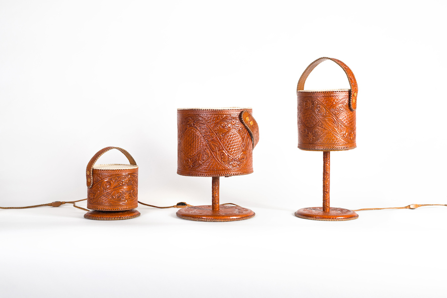 jorge-diego-etienne-leather-lamps
