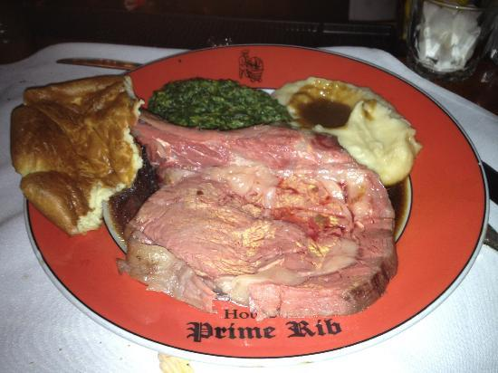 PRIME RIB DINNER