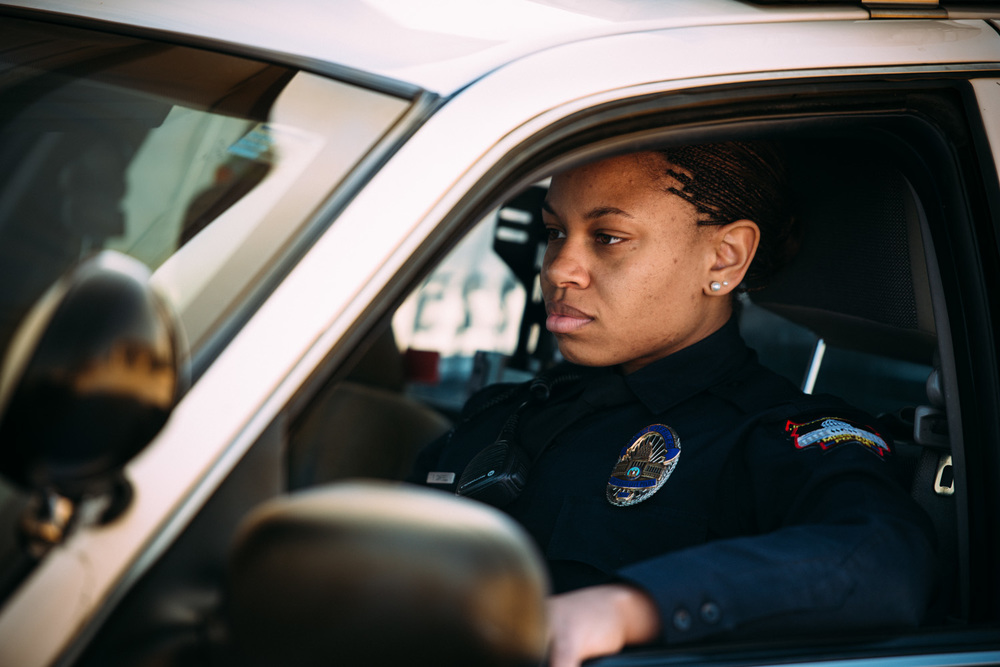 THE GIRL COP