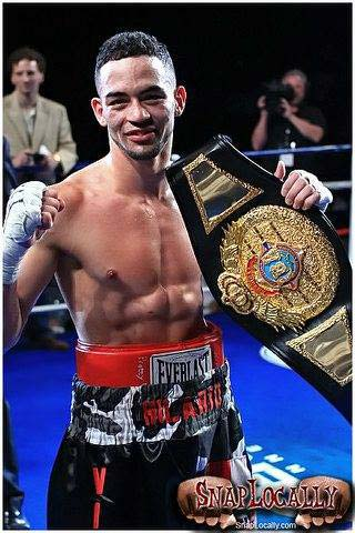 Wilton Hilario, lightweight IBF champion.