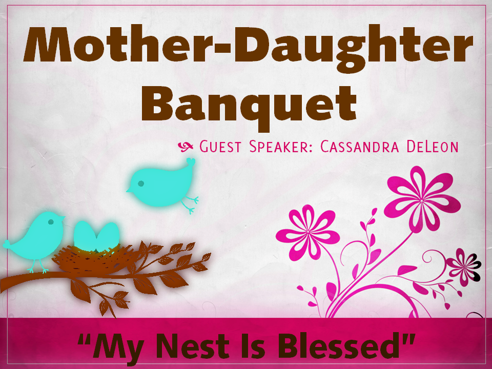 looking for ideas for mother and daughter banquet programs