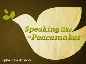 speaking-like-a-peacemaker
