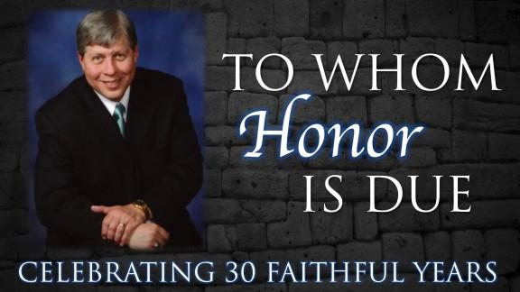 Honoring Pastor