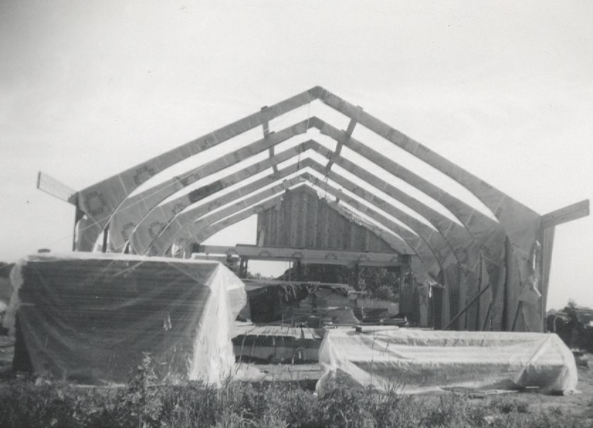 Original Church Building Construction