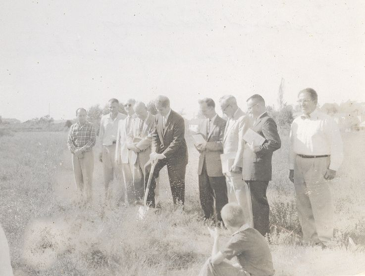 Groundbreaking for Original Building