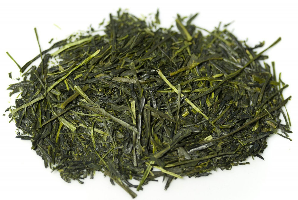 Shade grown green tea is high in L-Theanine