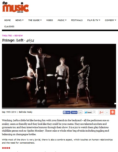 LEFT the Music review Melb Fringe 2014.jpg