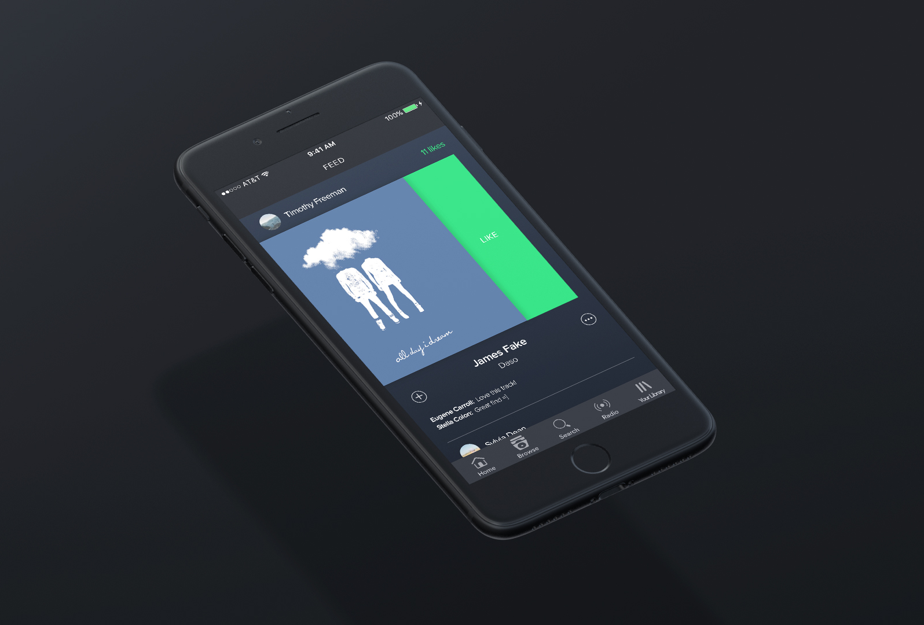 Spotify Feed (Mobile)
