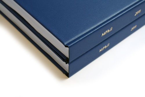 quick thesis binding