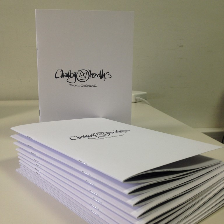 Saddle Stitched Booklet Printing