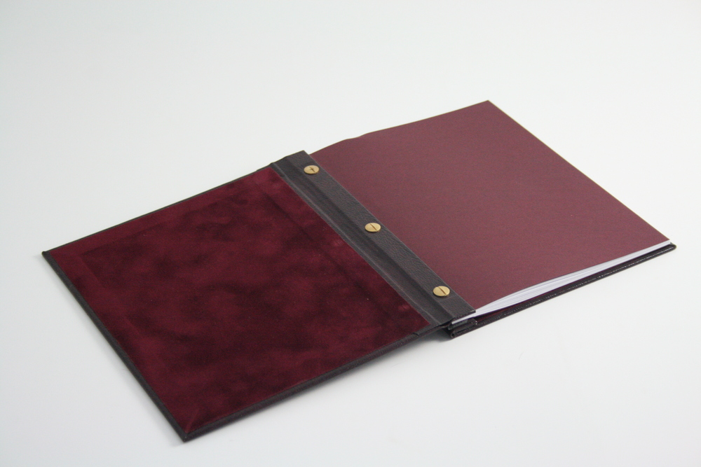 Types of binding back to basics student bookbinding faux leather portfolio solutioingenieria Choice Image