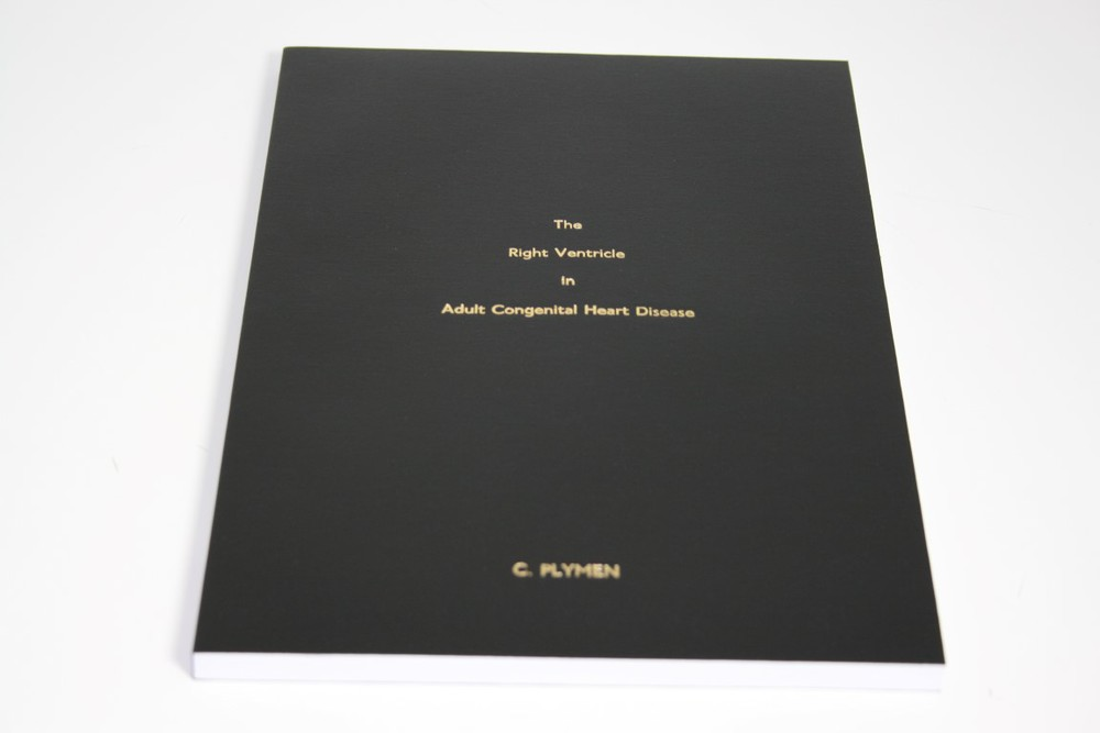 Gold Foiled Dissertation