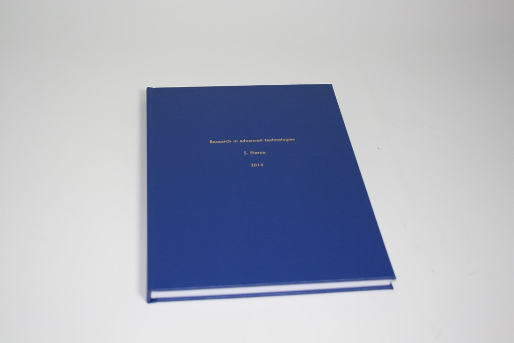 Hard Bound Dissertation