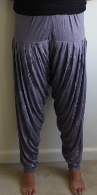 Grey & Silver Harem Pants