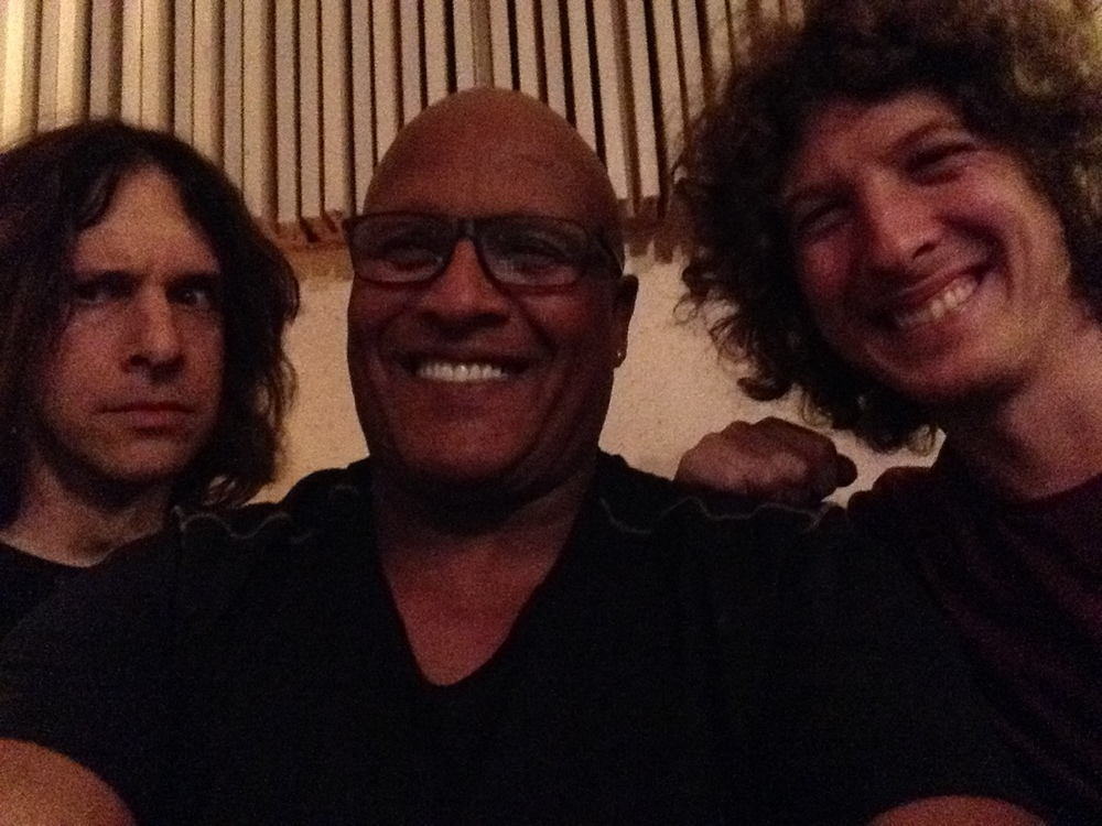 With Steve Ferrone and Henry Hey