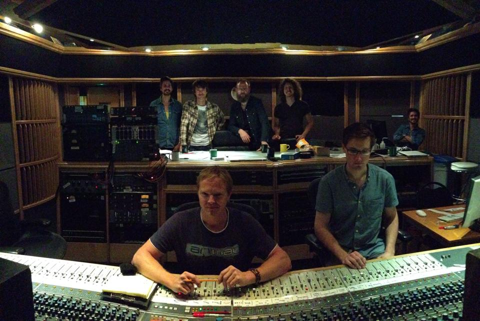 @ Air studios with Mollie Marriott and Steve Orchard