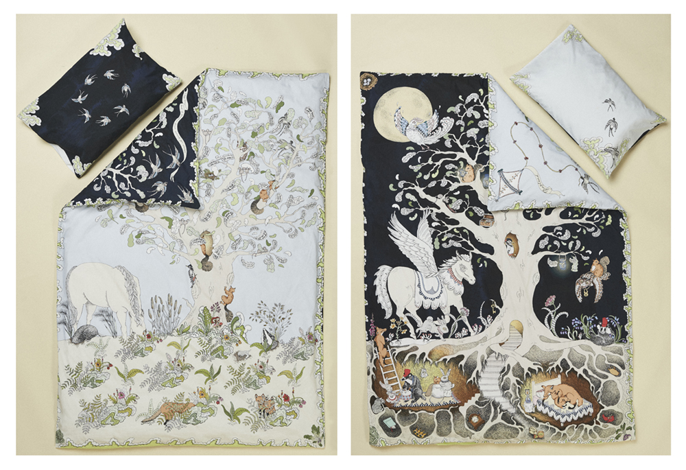 Forivor's Enchanted Forest Children's Duvet Set transforms uses its reversible design to change your bedroom from day to night. Credit: Jon Gorrigan