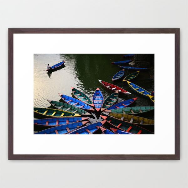 lake fewa, nepal