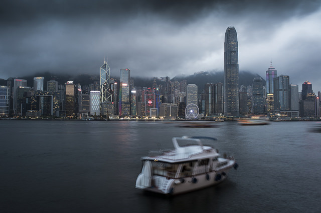 hong kong harbour 1