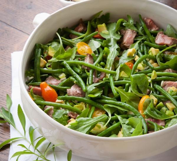 Monday night beef salad