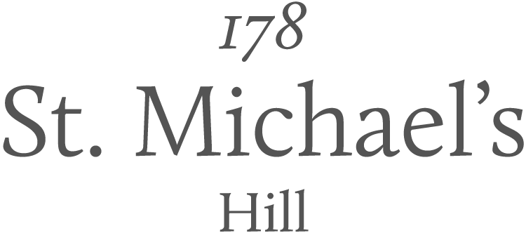 178 St. Michael's Hill