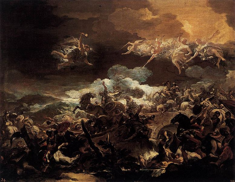 The Defeat of Sisera :  Luca Giordan 1692