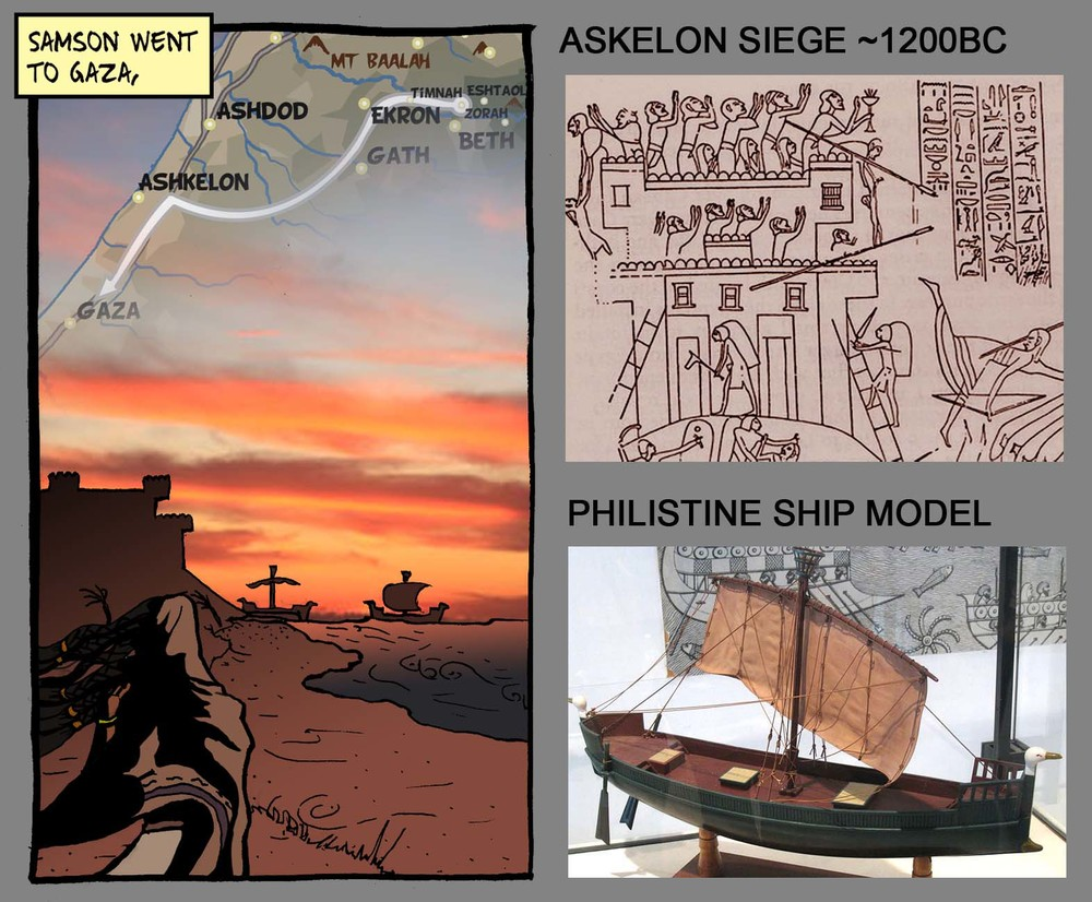 Images showing the integration of maps and some of the historical reference material.