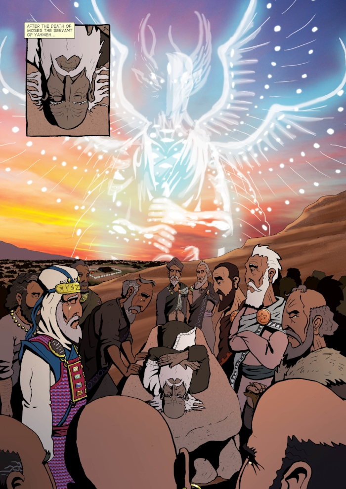 After the Death of Moses: The Word for Word Bible Comic