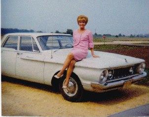 Mom, circa 1970.