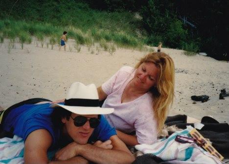 my parents, 1988.