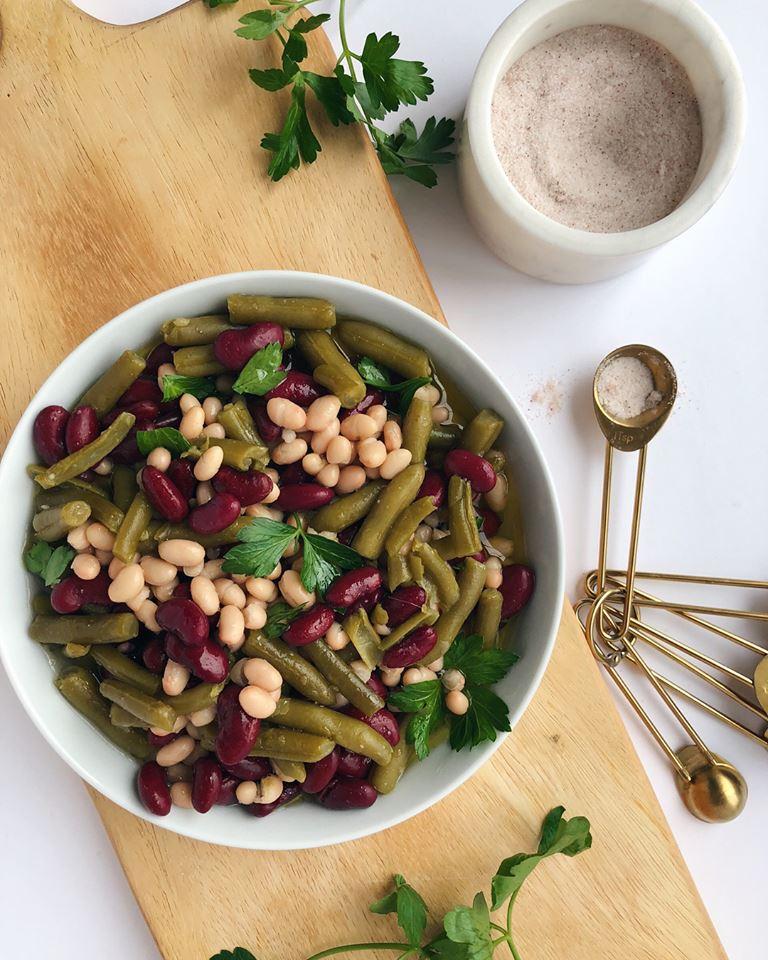 Three Bean Salad Recipe Without Sugar