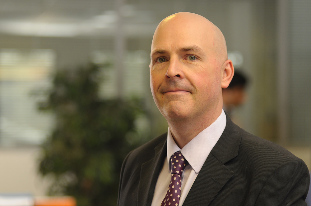 David O'Meara MSc FCIPP Service Manager