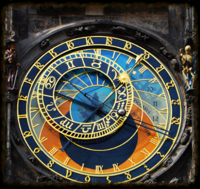 Astronomical Clock in Prague. Image from www.travelioo.com