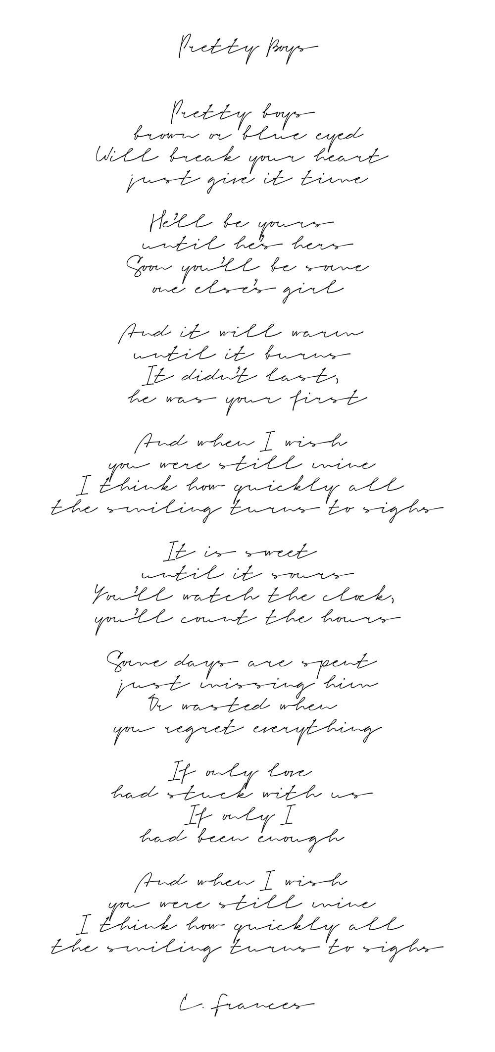 Catherine Frances - Pretty Boys.jpg