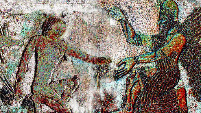 Ertha Takes Elmallahz Hand