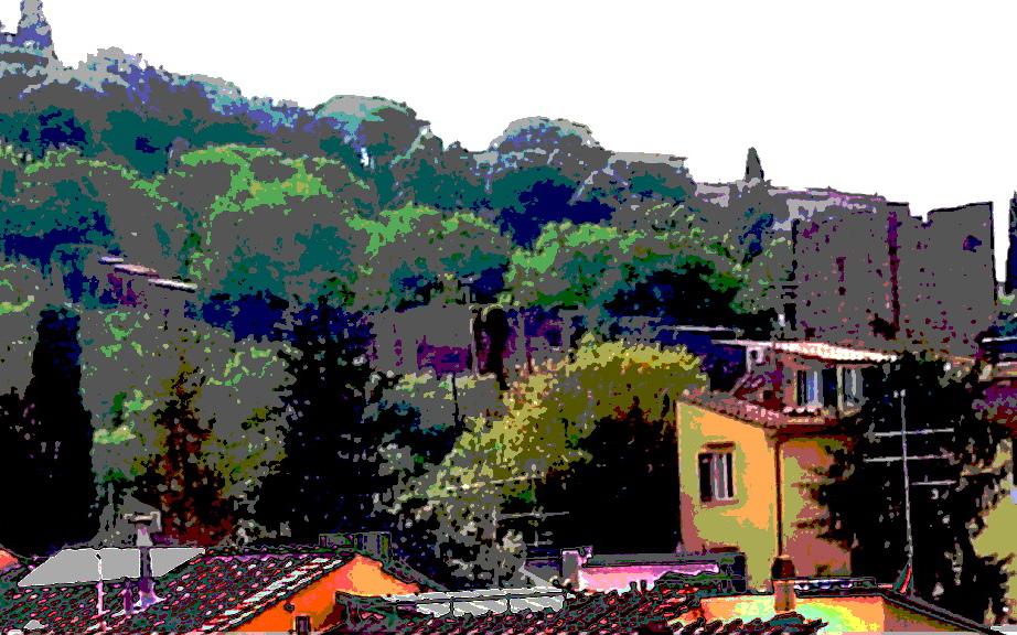 San Niccolo hills, Florence