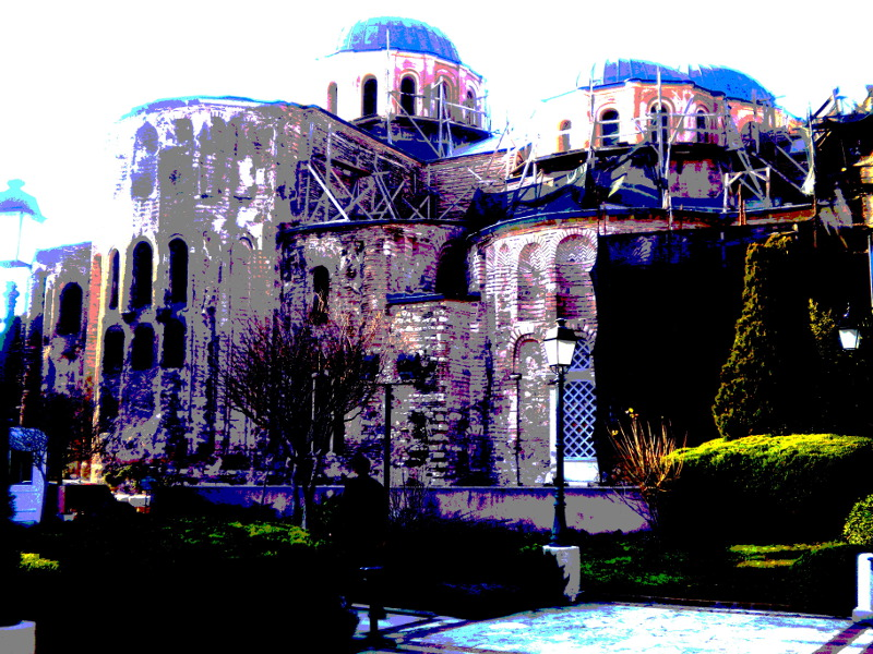 Pantocrator church, Istanbul, 1