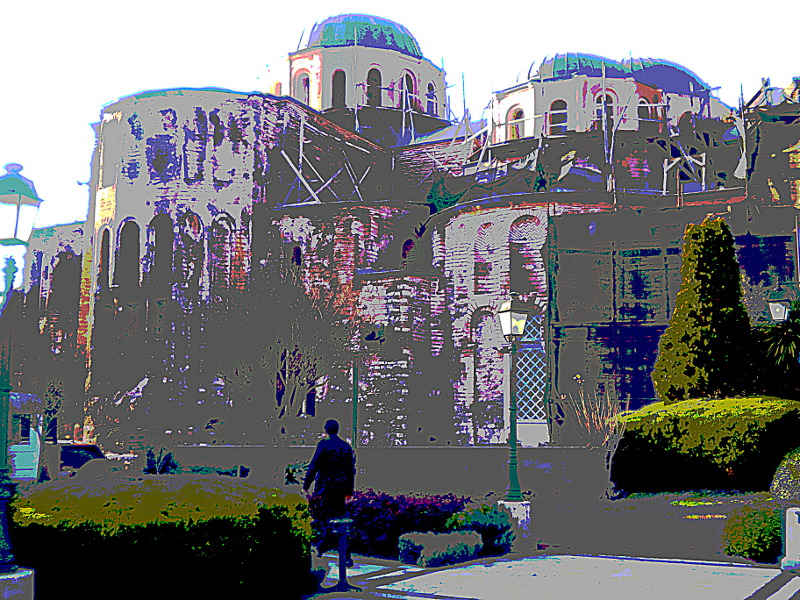 Pantocrator church, Istanbul, 2
