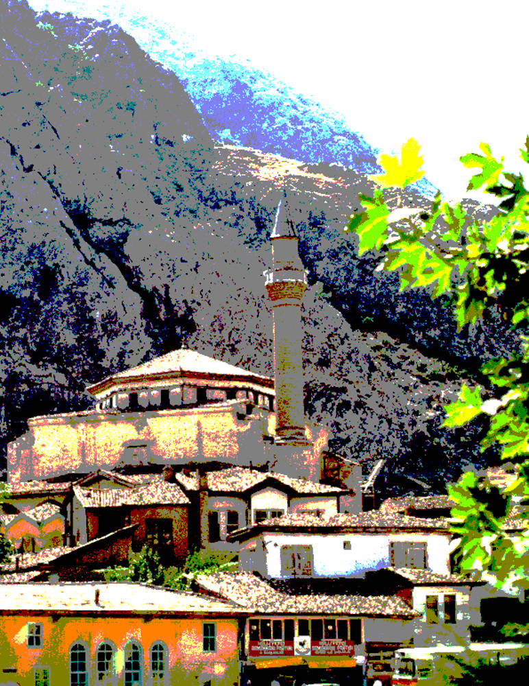 Gumuslu Camii, Amasya, Turkey 1983